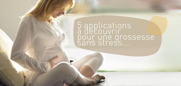 5 applications à découvrir pour une grossesse sans stress…
